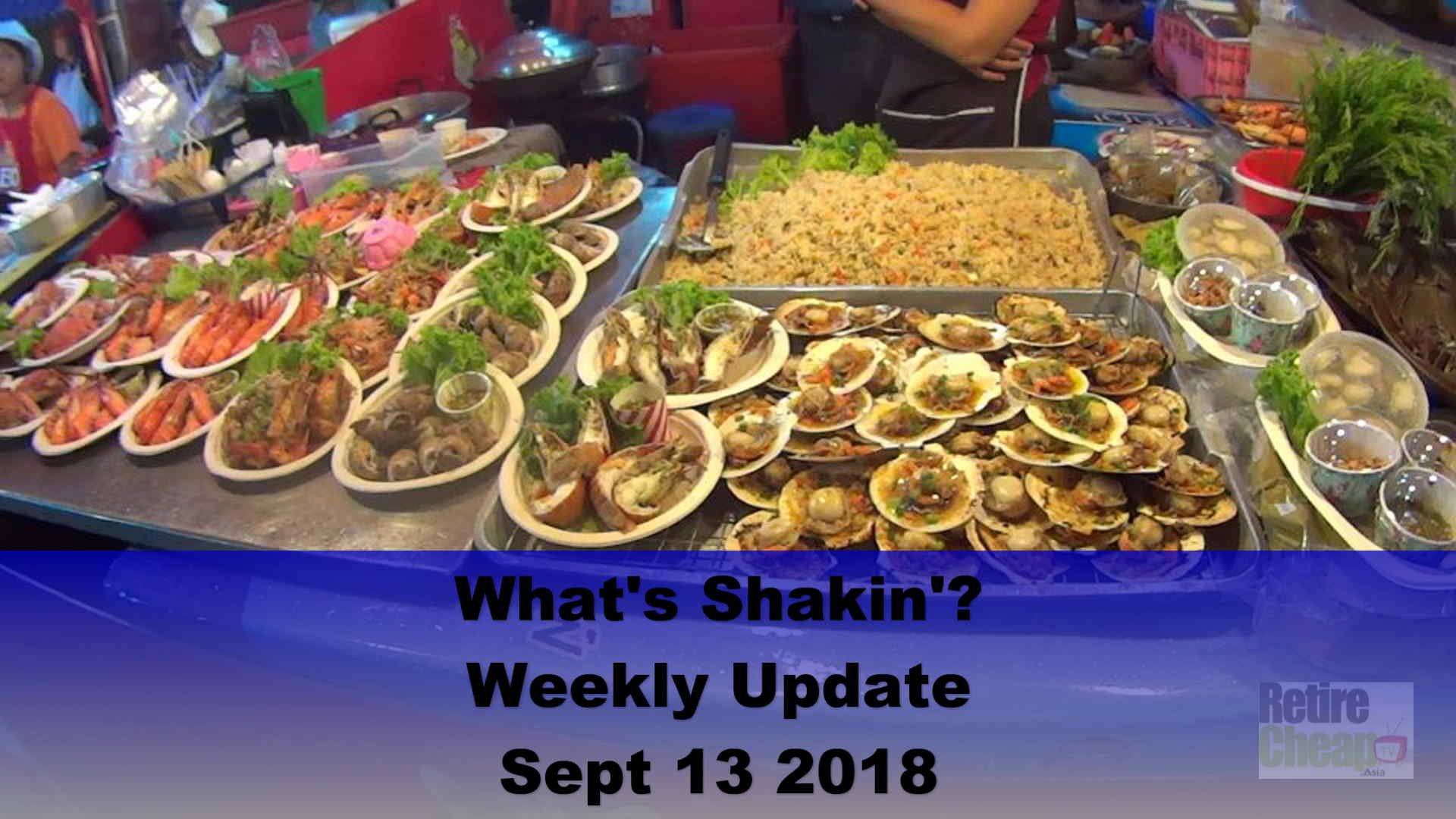 What's Shakn'? Week Sept 13 2018