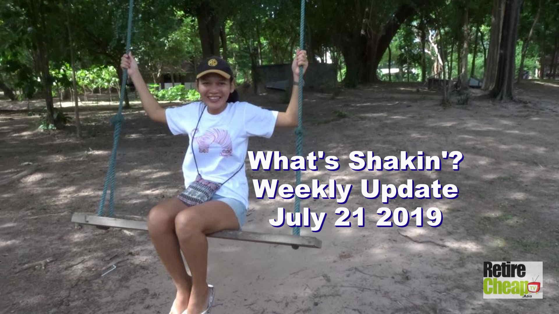 What's Shakn'? Week July 21 2019