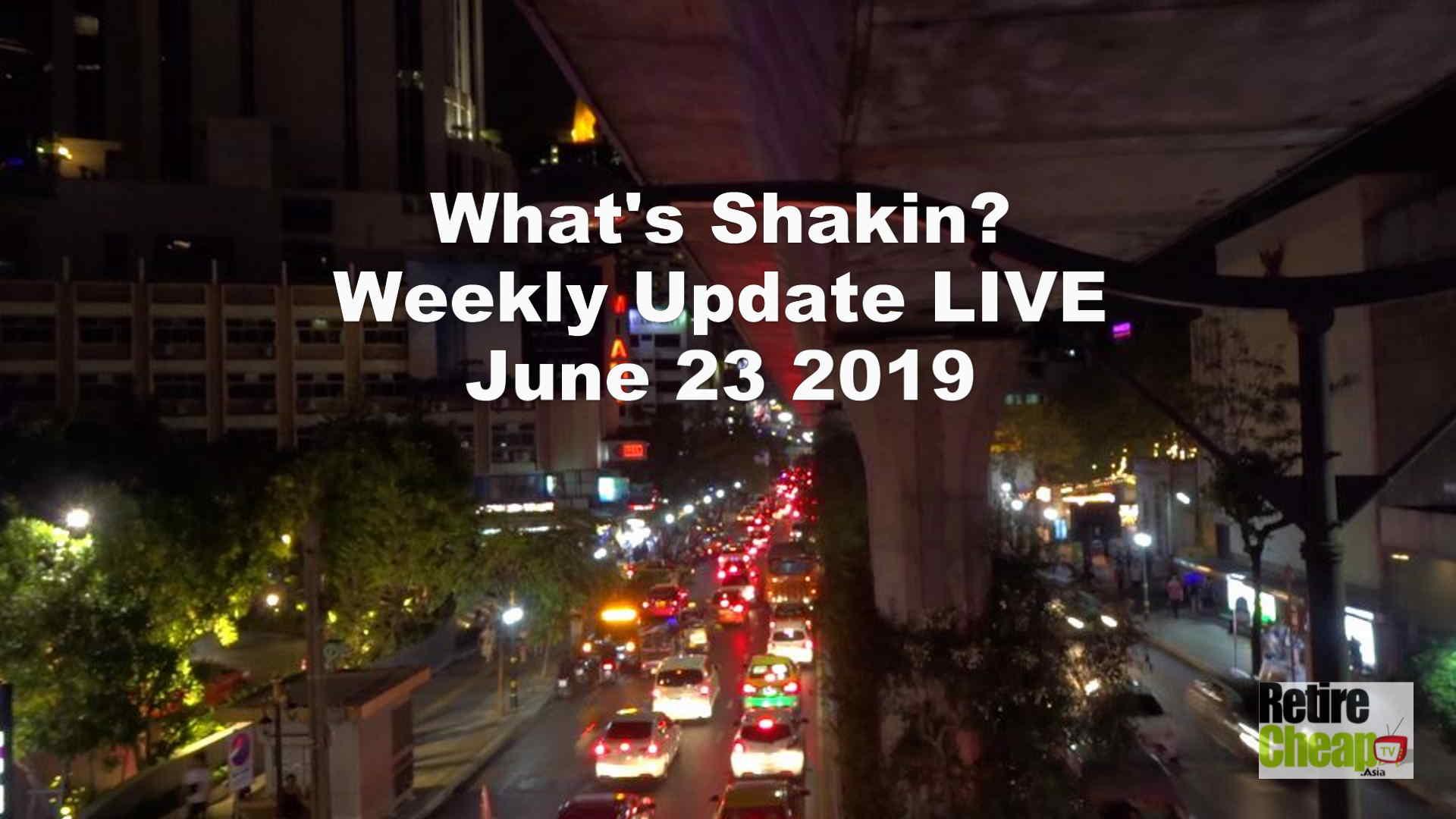 What's Shakn'? Week June 23 2019