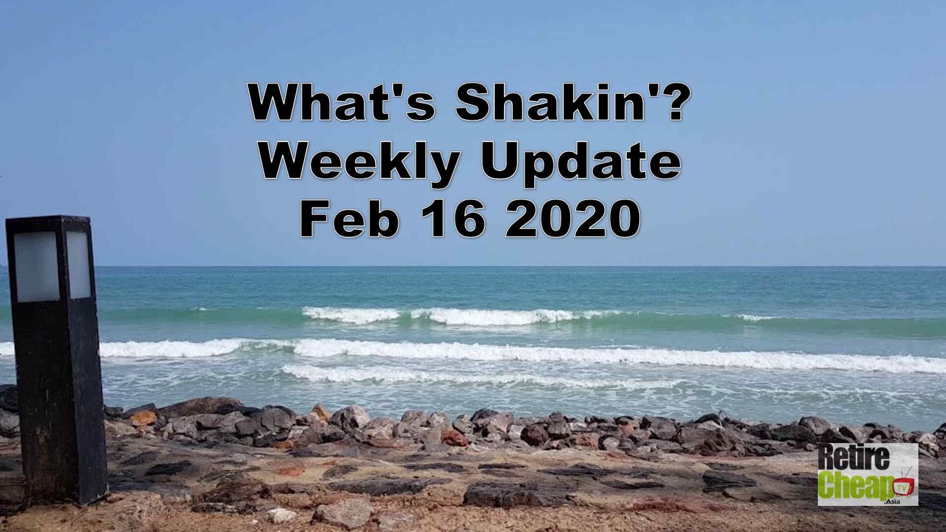 What's Shakn'? Week February 16 2020