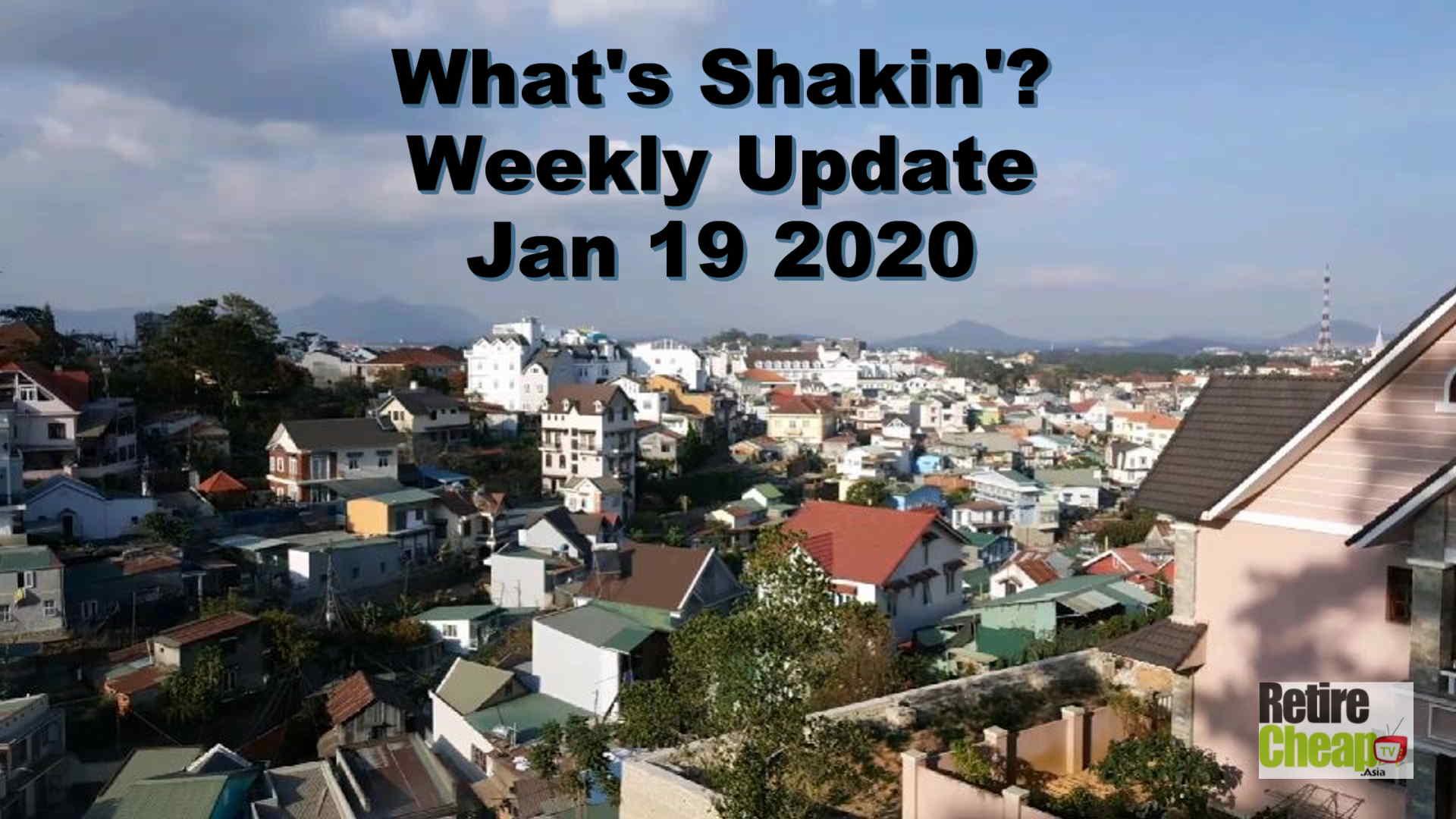 What's Shakn'? Week January 19 2020