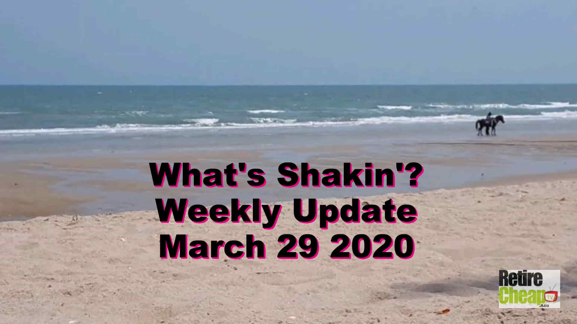 What's Shakn'? Week March 29 2020