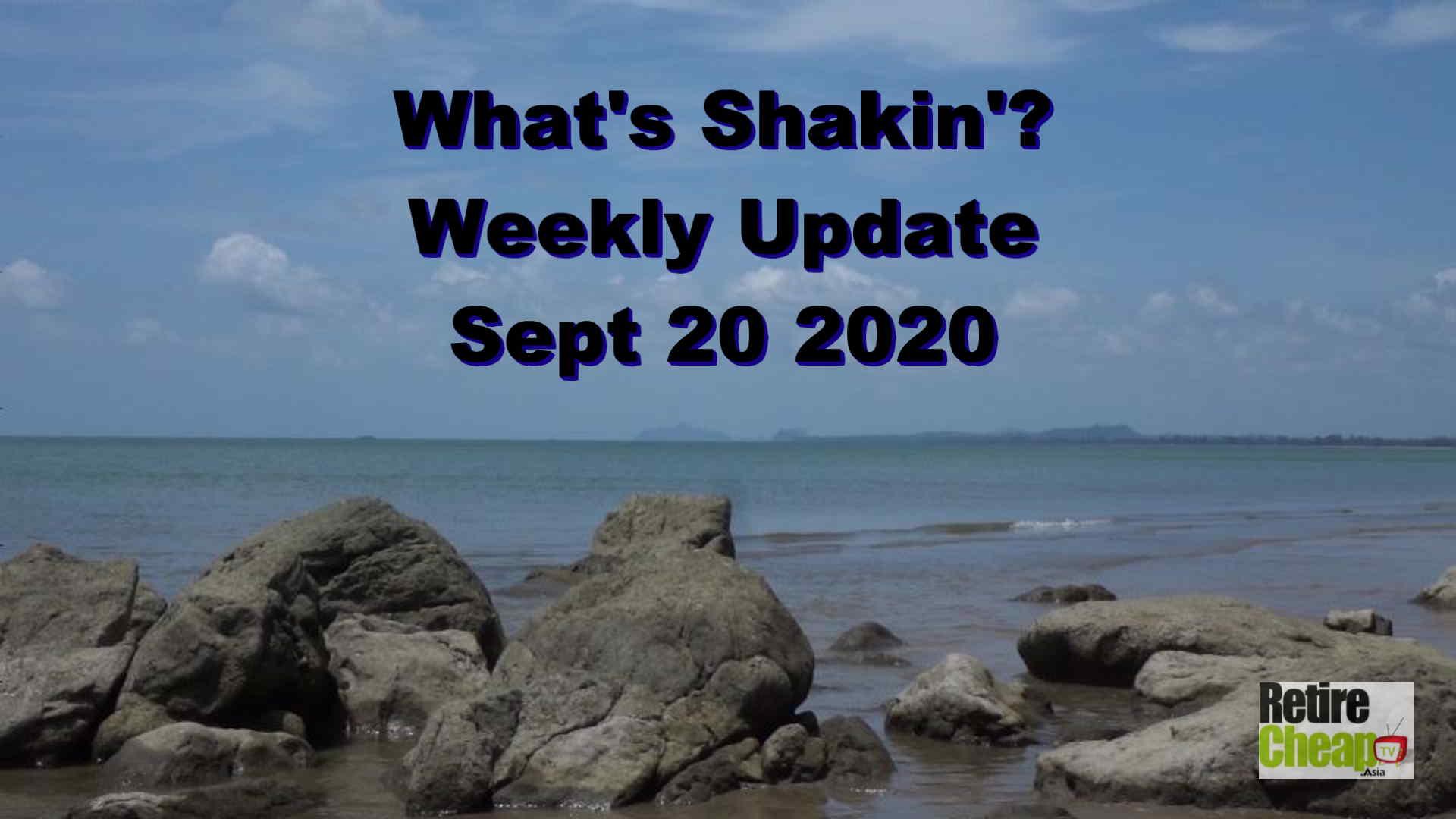What's Shakn'? Week September 20 2020