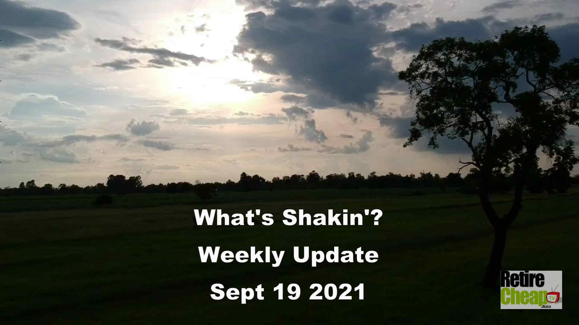What's Shakn'? Week September 19 2021