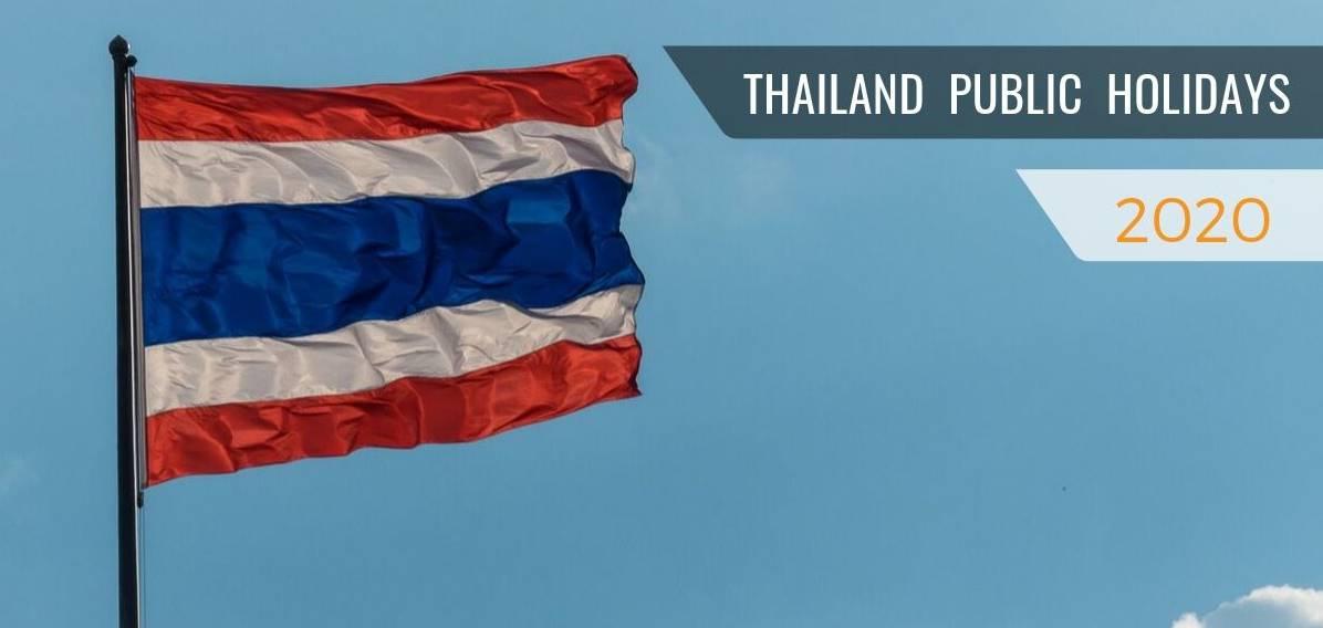 Thailand Public Holidays 2020